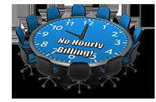 No Hourly Billing