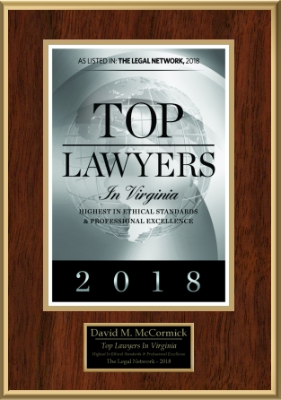 David McCormick Top Lawyer Award 2018
